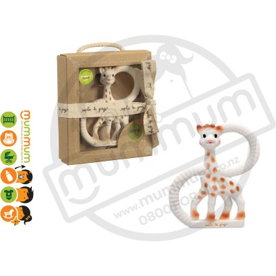 Sophie the Girafe So Pure Teething Ring Teether
