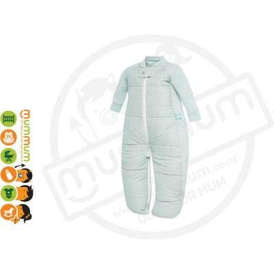 Ergopouch Sleepsuit Bag Mint 3.5TOG Choose Sizes 8m-6Y Pure Cotton