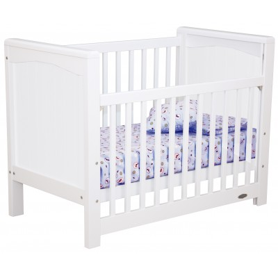 Touchwood Classic Panelled Cot White