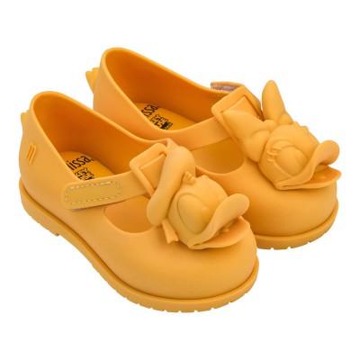 Mini Melissa Disney Classic Baby Yellow Matt Duck 32387 US5-10