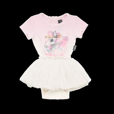 Rock your baby rainbow brumby-ss circus dress cream/light 3-24M