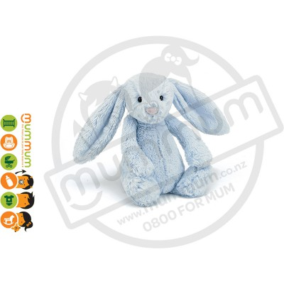 Jellycat Medium Bashful Bunny - Blue