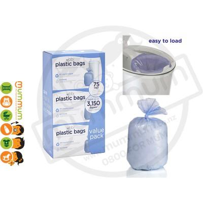 Ubbi Diaper Pail Bags - 3pack