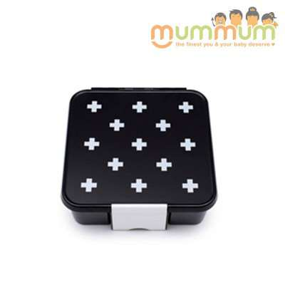 Little Lunch Box Co Bento Box Three White Cross