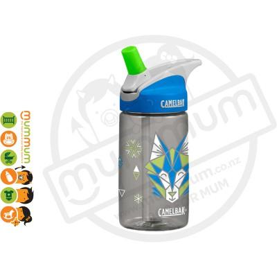 CamelBak eddy Kids 400ml Bottle GEO Wolf