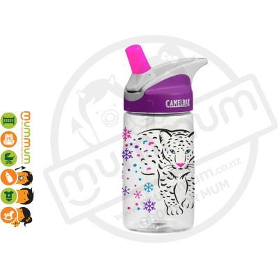 CamelBak eddy Kids 400ml Bottle Snow Leopard