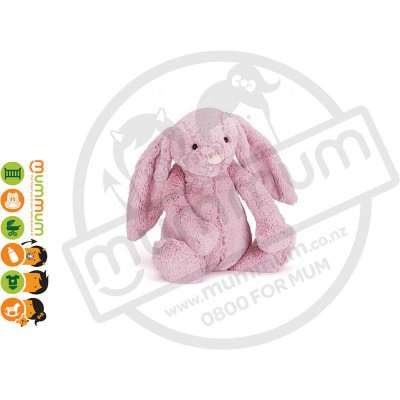 Jellycat Bashful Tulip Pink Ultra-Soft Bunny Medium