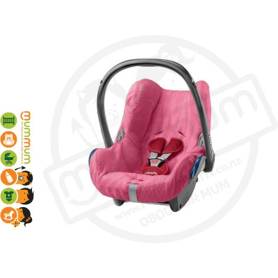 Maxi Cosi Summer Cover Cabriofix Pink Keep It Cool