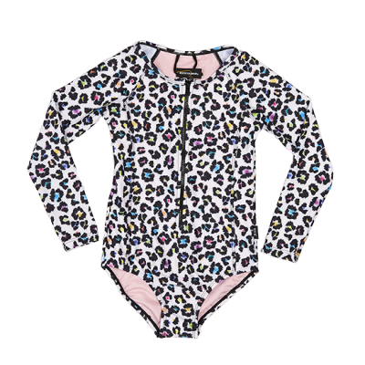 Rock Your Baby Swimming Togs 48 Crash LS One Piece Oatmeal 2-7Y Rock Your Kid