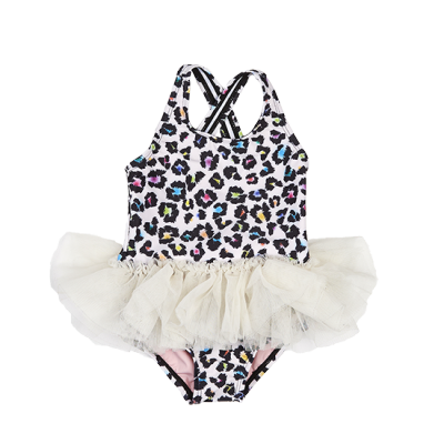 Rock Your Baby Swimming Togs 48 Crash Tulle One Piece Oatmeal 12-24M