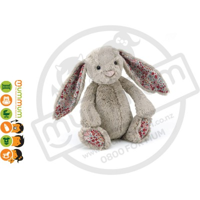 Jellycat Small Bashful Bunny - Beige Blossom