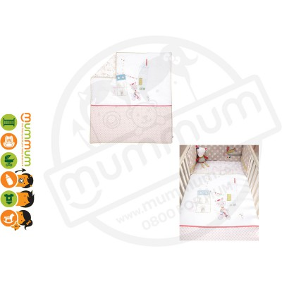 mamas & papas Cotbed Quilt Pixie & Finch Girl 0M+