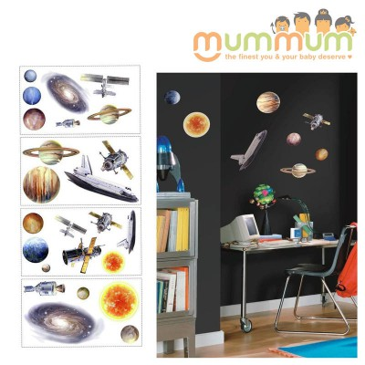 Room Mates Space Travel Appliques