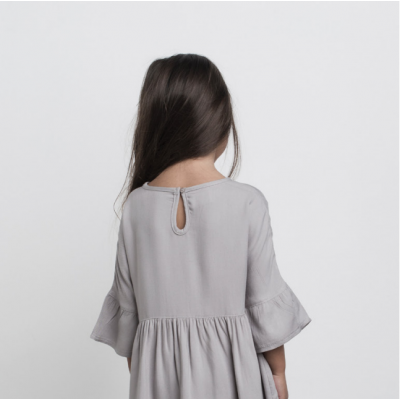 Huxbaby Woven Dress Grey 2-5y