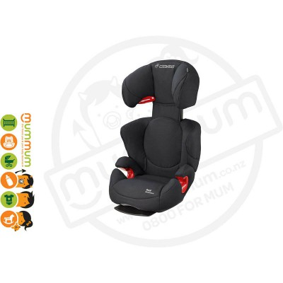 Maxi Cosi Rodi Ap Air Protection Black Raven Booster