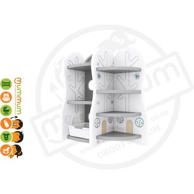 iFam DESIGN Toy Organizer 7 (GREY) L78xD36xH91 Made in Korea