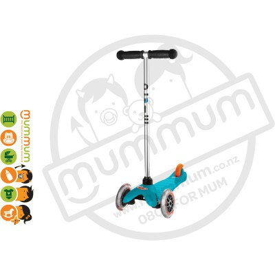 Micro Mini Scooter Aqua