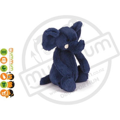 Jellycat Bashful Blue Elephant Medium Soft Toy