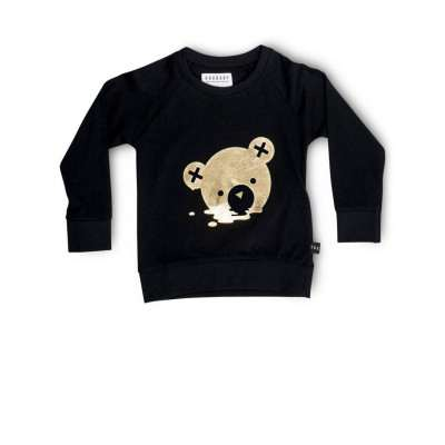 Huxbaby Melt Sweatshirt Black