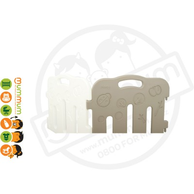 iFam Forrest Baby Room Playpen Mocha Door Panel + Side Panel Additional 2pc