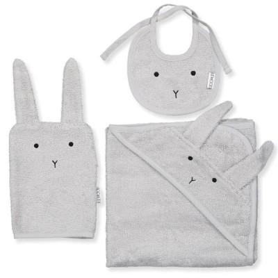 Liewood Adale Terry Baby Package Rabbit Dumbo Grey