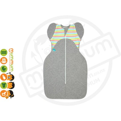 Love To Dream Swaddle Up Winter Warm 50/50 certified Organic Cotton - Grey