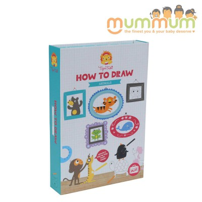 Tiger Tribe How To Draw Animals Set