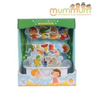 Tiger tribe bath stories once upon a jungle For 3ys