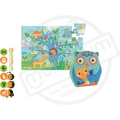 DJECO Puzzle Hello Owl 24pieces 3Y+