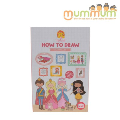 Tiger Tribe How To Draw For Fairy Tales For 5ys