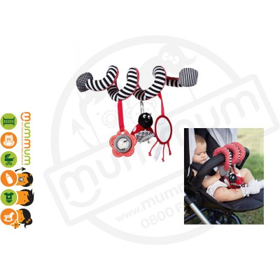 Mamas & Papas Coloured Activity Spiral For Capsule Or Stroller