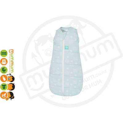 ergopouch cocoon Swaddle 0.2T Mint Star 0-3months 3-7kgs Pure Cotton