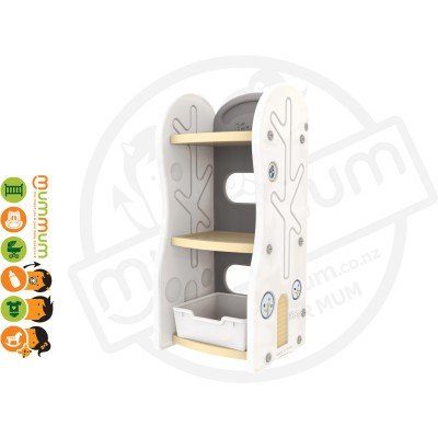 iFam DESIGN Toy Organizer 2 (BEIGE) L42xD36xH91 Made in Korea