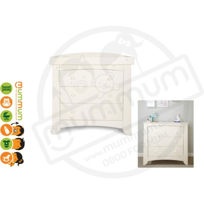 Mamas & Papas Harbour Dresser With Changer  Ivory