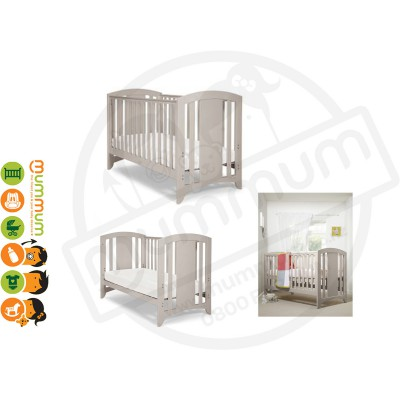 Mamas & Papas Harbour Cot/Day/Toddler Bed Putty