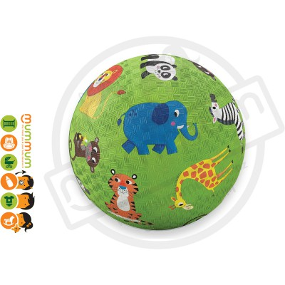 Crocodile Creek Jungle Animals 7'' Playground Ball