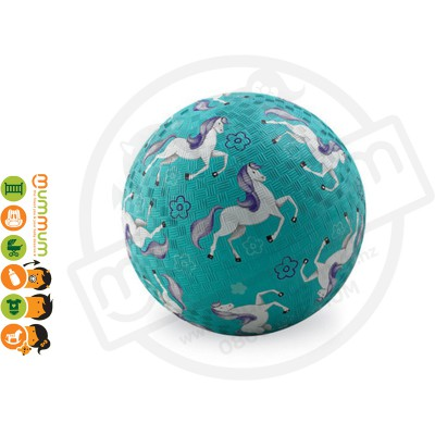 Crocodile Creek Horses 7'' Playground Ball