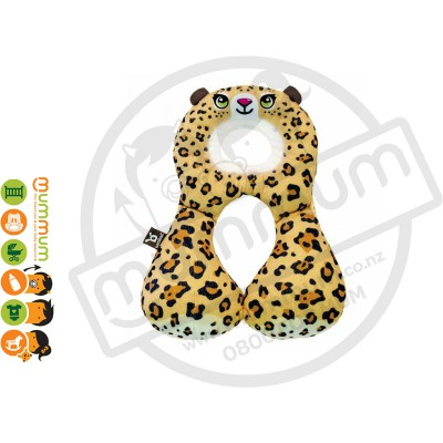 Benbat Travel Friends Total Support Headrest, 1-4years (Leopard)