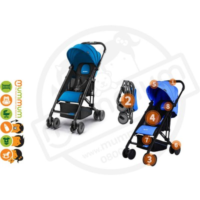 Recaro Easylife Travel Stroller - Saphir Blue