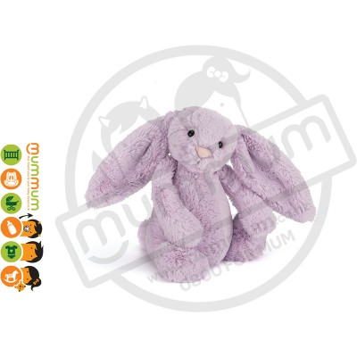 Jellycat Bashful Hyacinth Bunny Medium