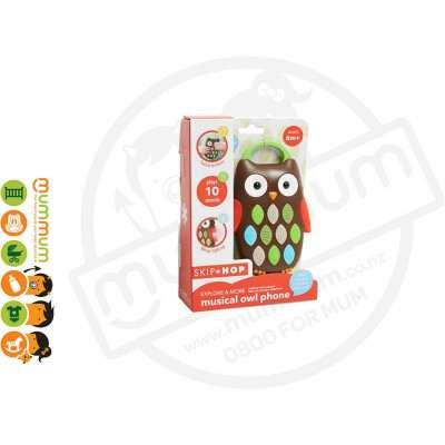 Skip Hop Explore & More Musical Owl Play Phone