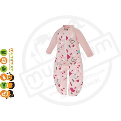 Ergopouch Sleepsuit Bag Tulip  2.5TOG Choose Sizes 8m-6Y Pure Cotton