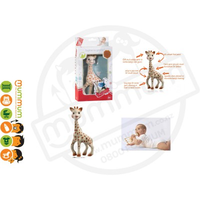 Sophie The Giraffe Natura Teether  Made in France