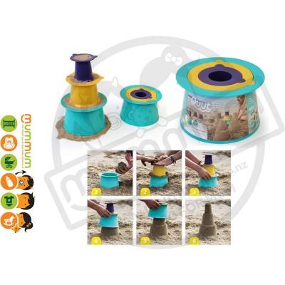 Quut Alto Stackable Sandcastle Sandpit Toy Beach Toy Sand Moulds