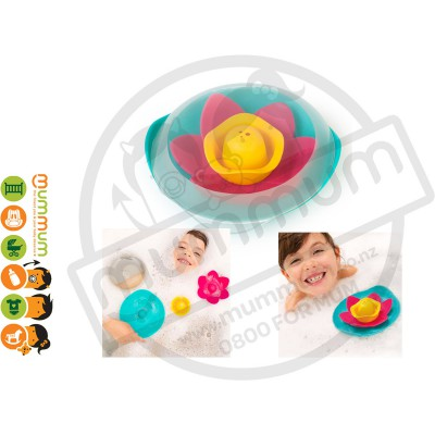 QUUT Lili Fairy Tale Flower Set Bath Toy Water Play Pool Party Girls Game