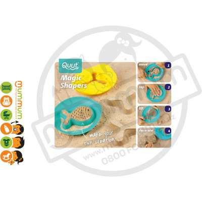 Quut Magic Shapers- Starfish Sandpit Toy  Easy Shape