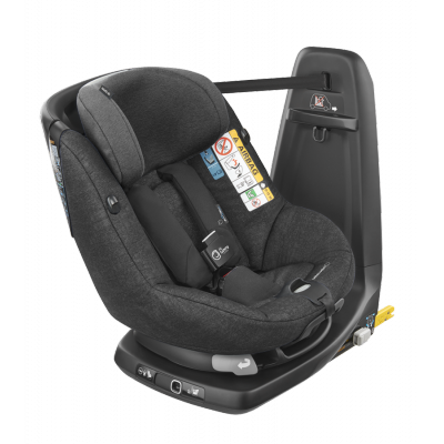 Maxi Cosi Axissfix Air Nomad Black with built in Airbags Stage 1 Isofix Carseat with Built in Air bag