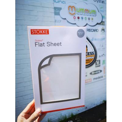 Stokke Flat Sheet - Classic White , Sleepi (100 x 140 cm)
