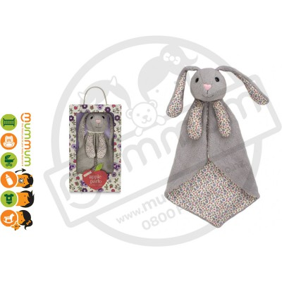 Apple Park Organic Patterned Blankie Bunny Hypo-Allergenic Comforter