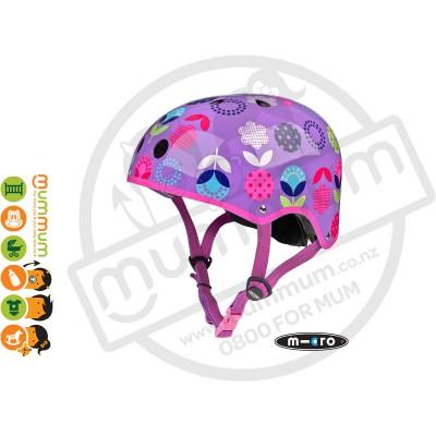 Micro Helmet Purple Small